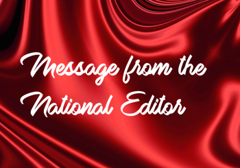Message from the National Editor